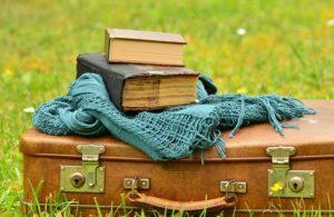 Reisen mit Buch